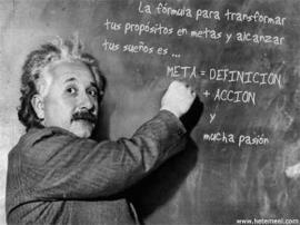 Meta= definición + acción + pasión